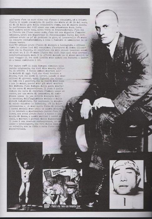 Fanzine Unknown Pleasures numero uno, Tu Quoque Punk - Fatur, grafiche Valentina Mangieri, direz.artistica LST.2