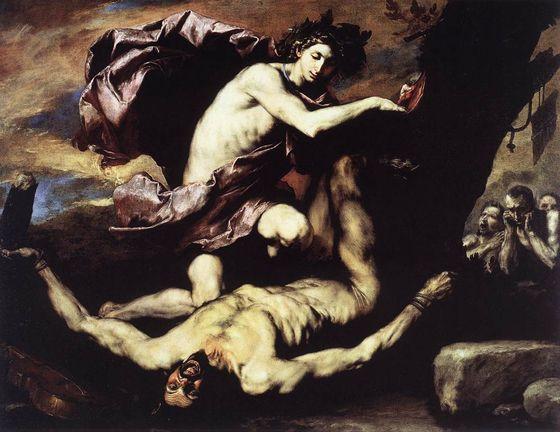 Jusepe de Ribera, Apollo e Marsia, 1637