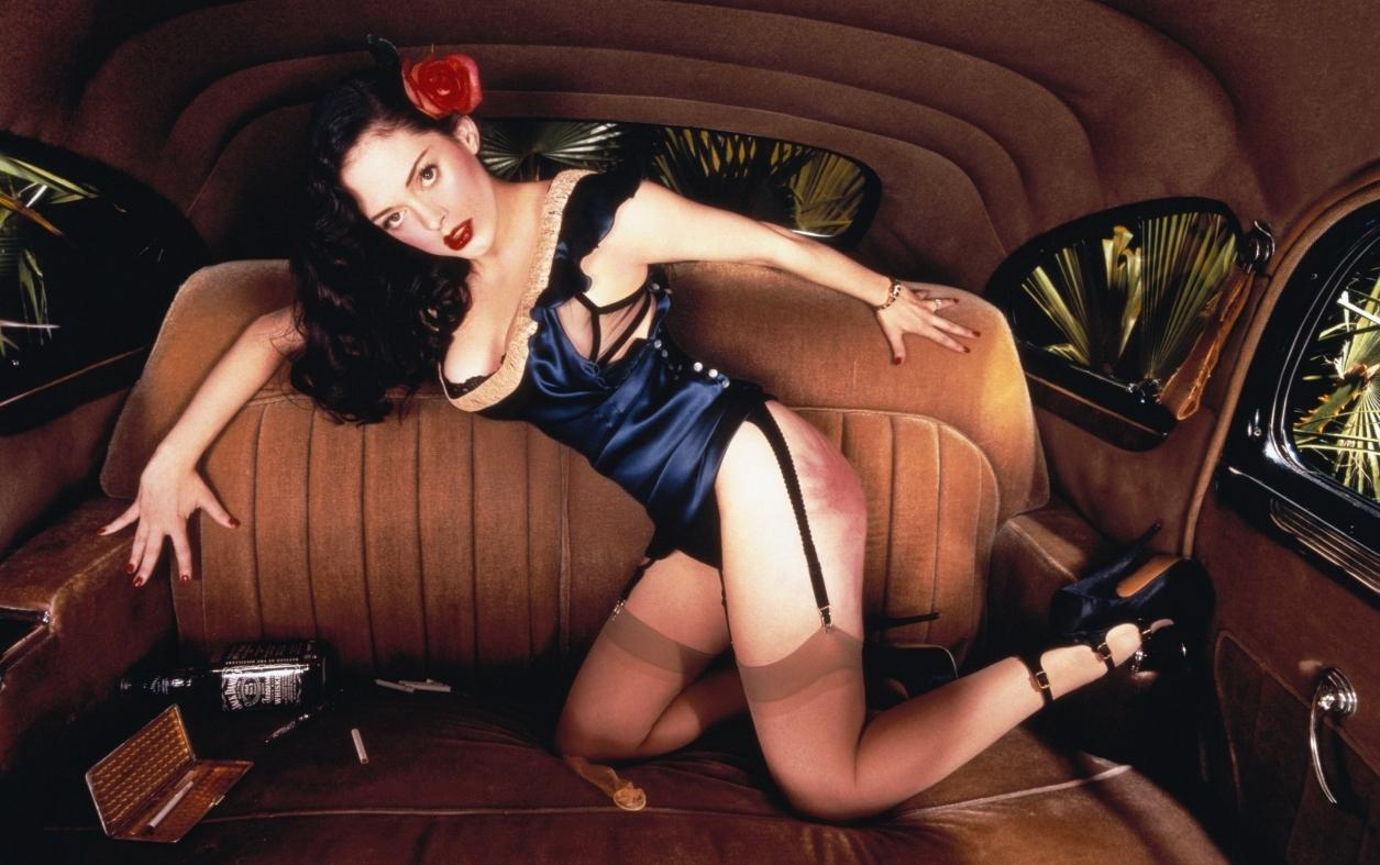 David LaChapelle rose_mcgowan_