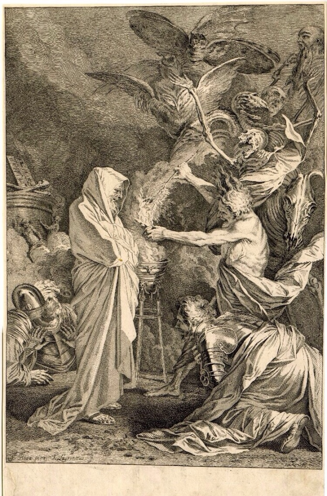 Andrew Lawrence , Witch of Endor, 1730-54