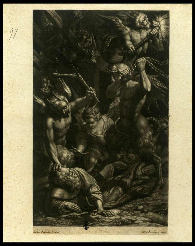Camillo Procaccini, Tentazioni di Sant'Antonio, 1600-1629