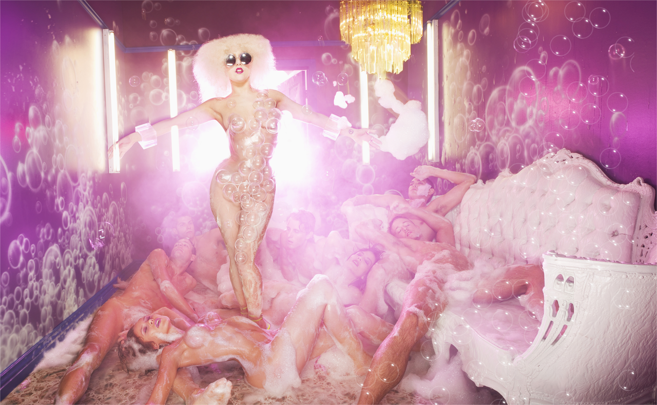 David LaChapelle, lady gaga