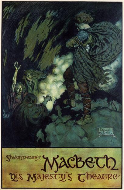 Edmund Dulac, Macbeth, 1911