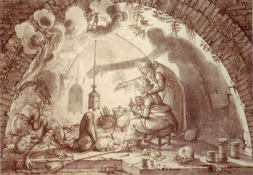 Jacques de Gheyn II, Witches, 1604