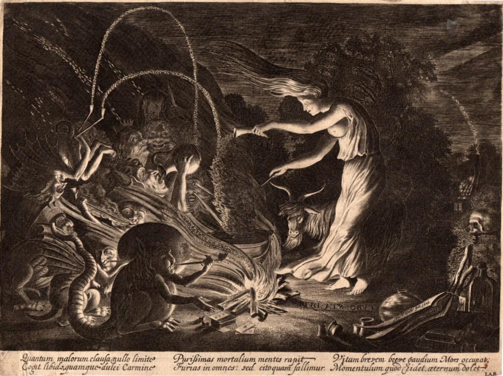 Jan Van de Velde II, The sorceress, 1626