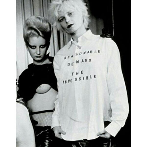 "Jordan & Vivienne Westwood ""Be Reasonable Demand The Impossible"""