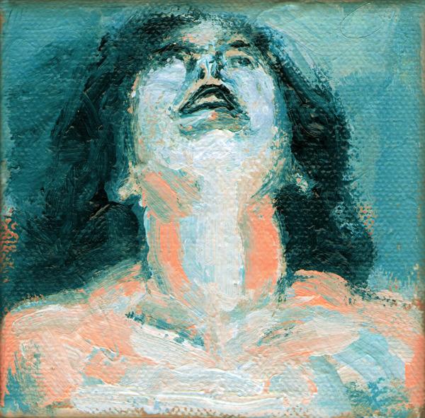 Emanuele Puzziello, Stato di alterazione, acrilico su tela, 10x10, 2011 (21)