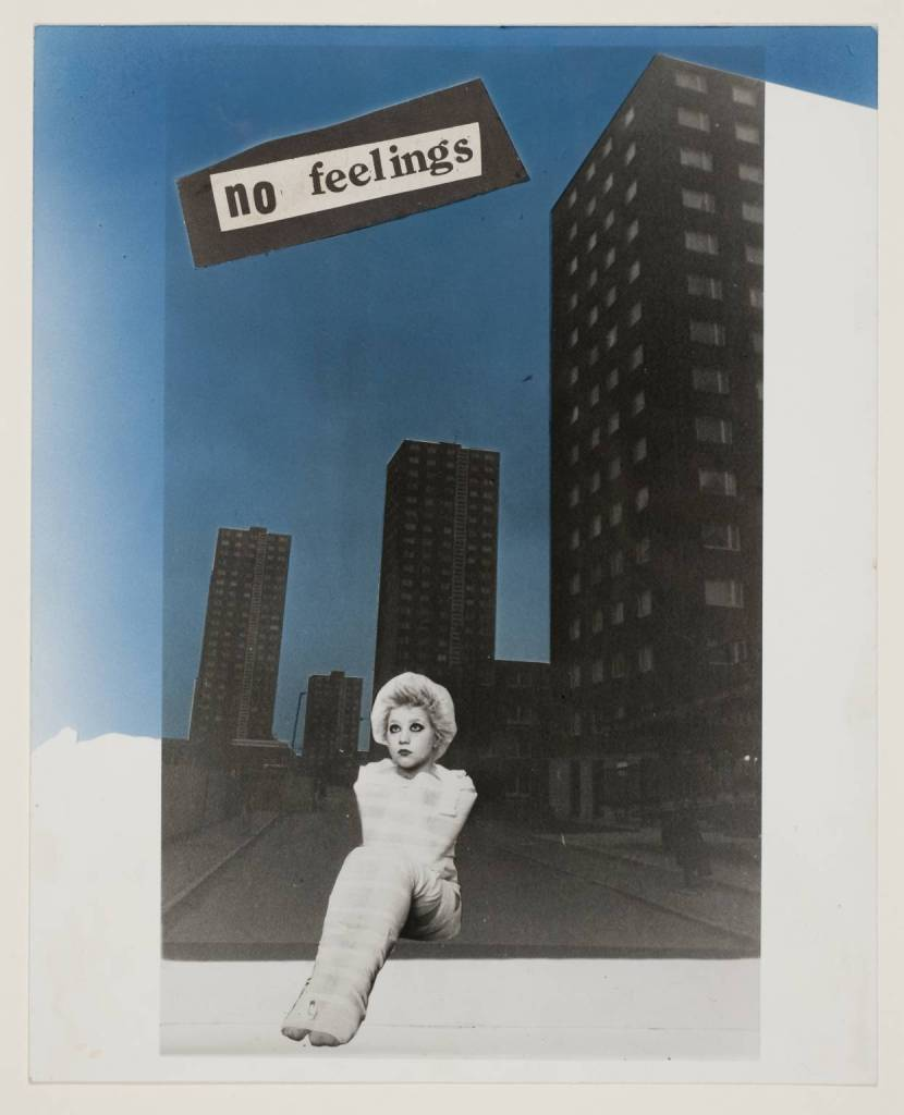 No Feelings 1977 by Jamie Reid born 1947