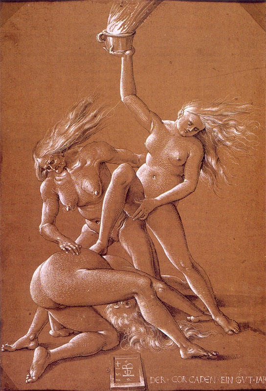 Three Witches, Hans Baldung Grien