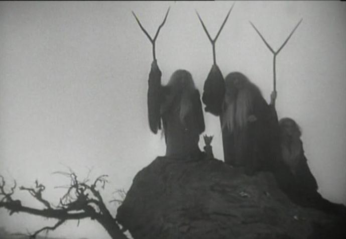 Three_Witches_Welles, Macbeth, 1948