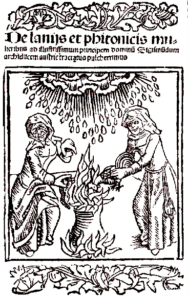 Ulrich Molitor, De Lamiis et Pythonicis Mulieribus,