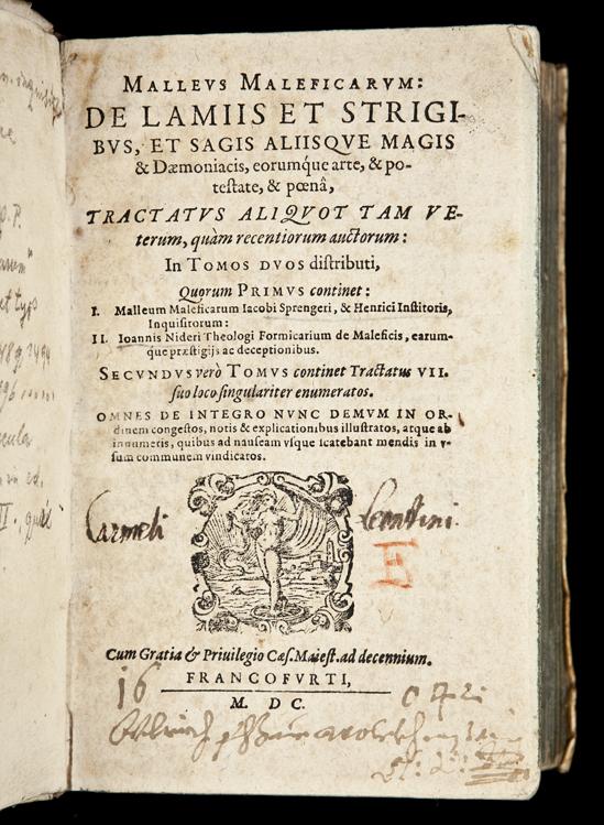 Malleus Maleficarum, Sprenger e Kramer, 1487