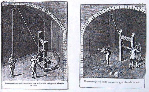 tortura della corda