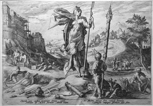 Goltzius_Ovid_Bronze_Age, Ovid's Metamorphoses, 1590