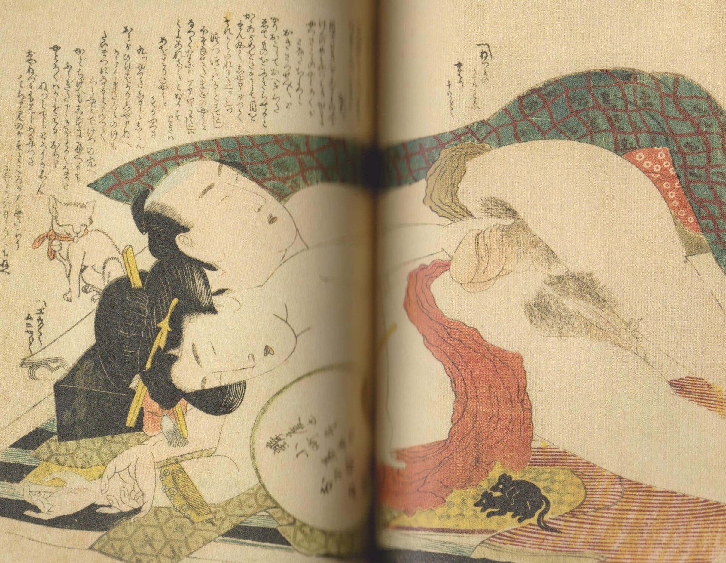 Katsuhira Hokusai, Tsuhi no hinagata (Modelli illustrati di coppie in amore)