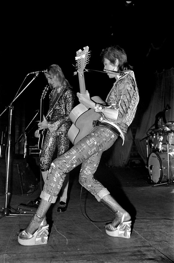 Mick Rock Bowie