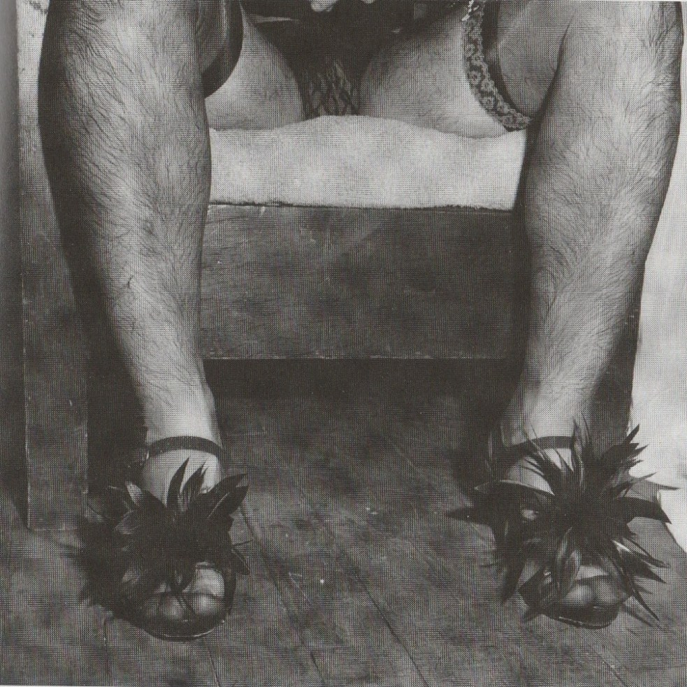 Peter Hujar, Randy, High Heels, Halloween, 1980