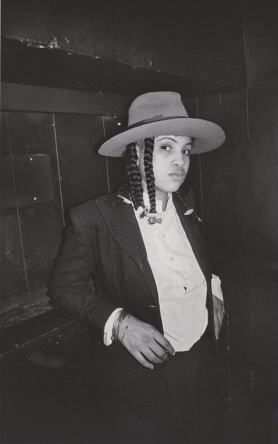 Derek Ridgers London Youth 78-87, Neneh Cherry, The Wag Club, 1983