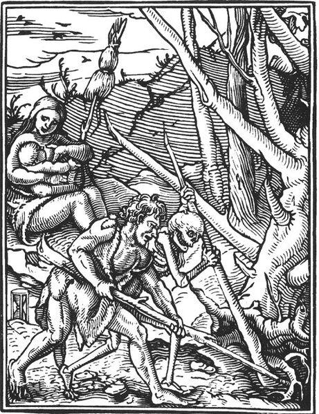 Holbeins_Totentanz_Waldrodung 1538
