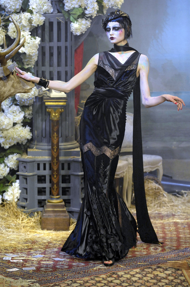 Galliano FW Ready To Wear 2007-08, Tribute to Marchesa Luisa Casati