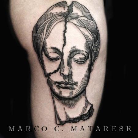 Marco Matarese Volto femminile 2