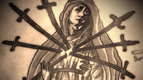 Massimo Gurnari Madonna di spade
