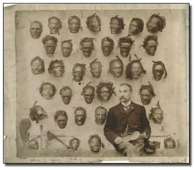 Shrunken Heads via Cabinet of Curiosities