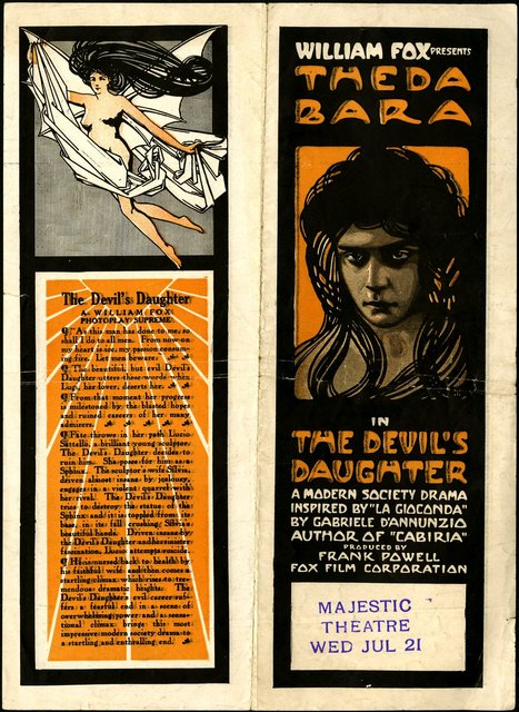 The Devil's Daughter del 1915 con Theda Bara