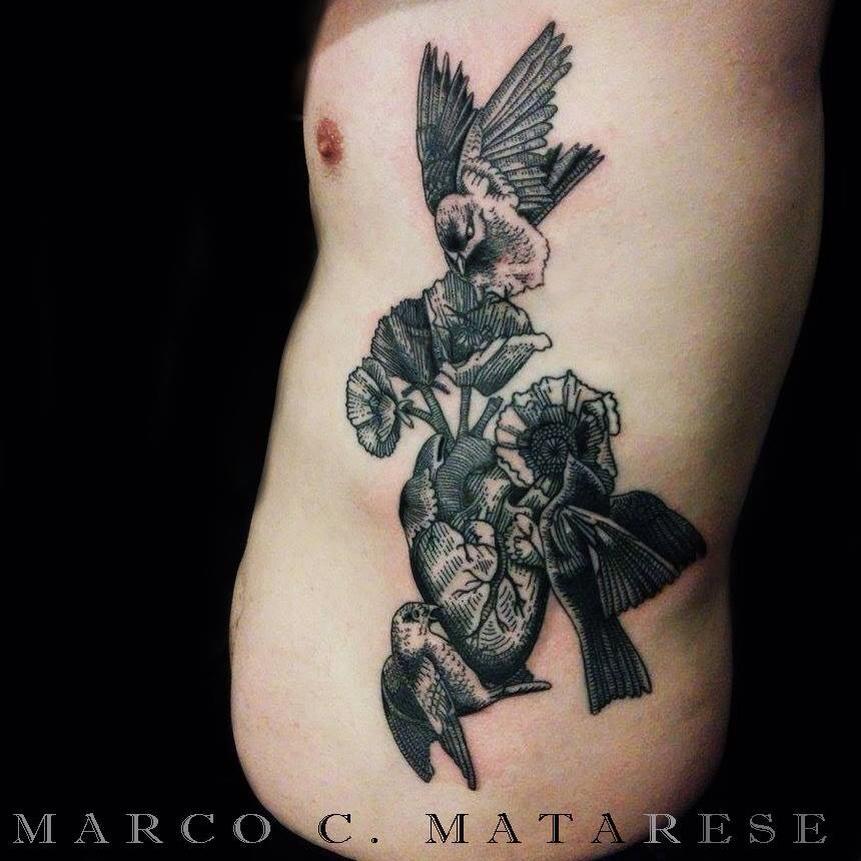 Marco Matarese Ex Voto uccelli
