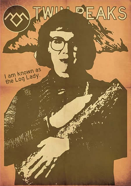 the log lady by terror factory