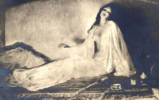 Albert Matignon – Awakening from Opium (1911