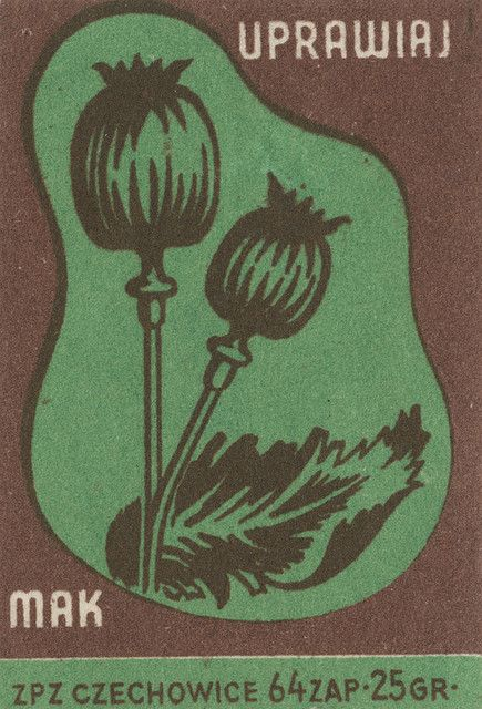 Polish matchbox label via Jane McDevitt flickr