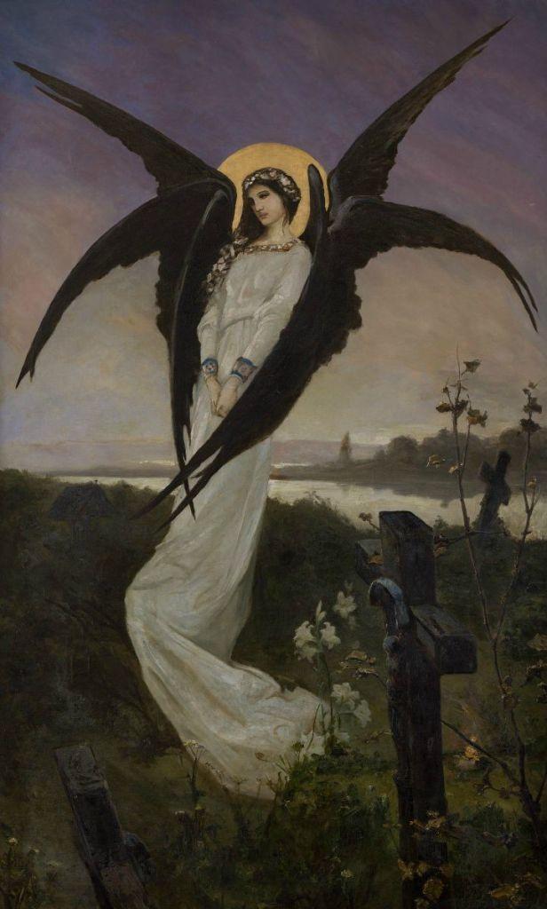 Wilhelm Kotarbiński - Anioł na cmentarzu (Angel in a Cemetery)