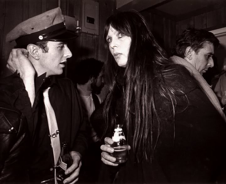 PHOTO BY ANTOINE GIACOMONI. JOE STRUMMER, NICO & JOHN CALE, 1979