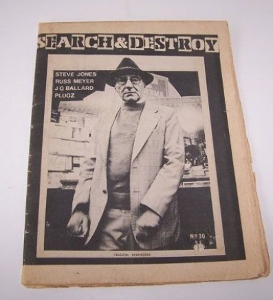 Williams Burroughs. Search & Destroy NO. 10 1978 Punk Fanzine by hellogoodbuyshop10 1978