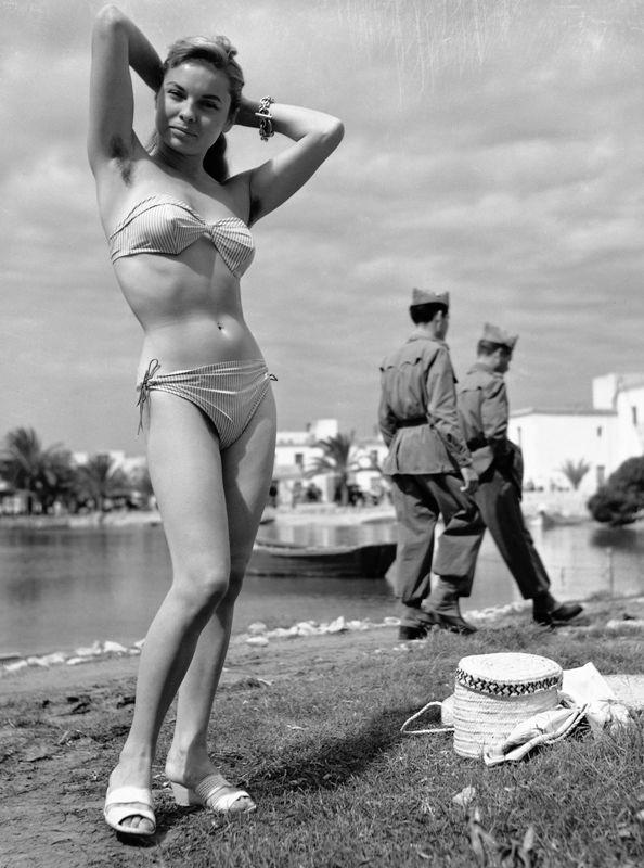 oriol maspons primo bikini ad ibiza 1953