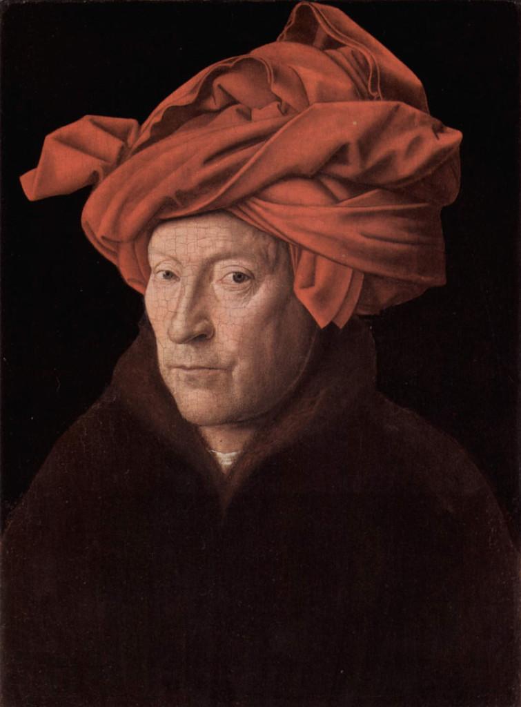 van-eyck, uomo con turbante, 1433