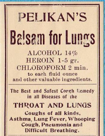 eroina balsamo per i polmoni