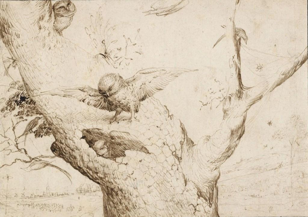 Hieronymus Bosch, The Owl's Nest c.1505-1516
