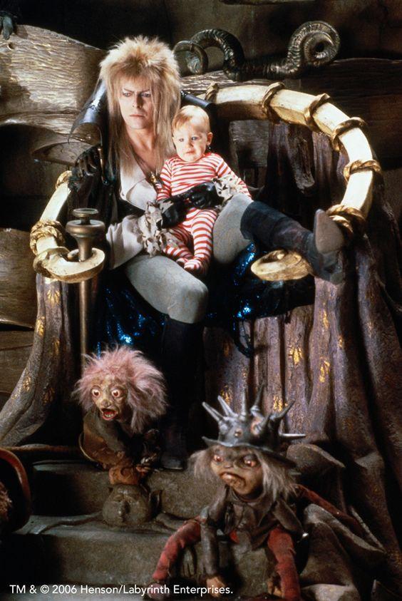 Labyrinth Bowie trono