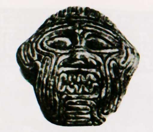 khumbaba-epopea-gilgamesh-volto-di-viscere-babilonia