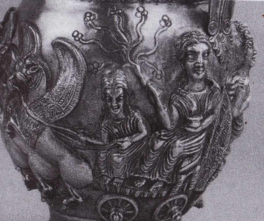 dea-che-tiene-albero-della-vita-su-carro-trainato-da-draghi,-tesoro-di-rogozen,-IV-secolo-ac