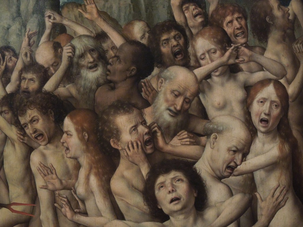 Hans Memling (1433 - 1494) - The Last Judgment. Detail