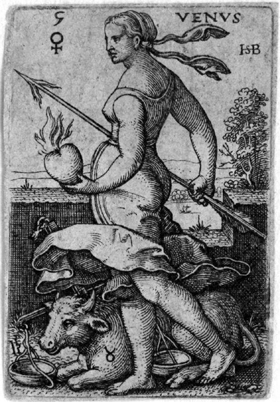 Hans Sebald Beham, Venus