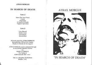 in search of death