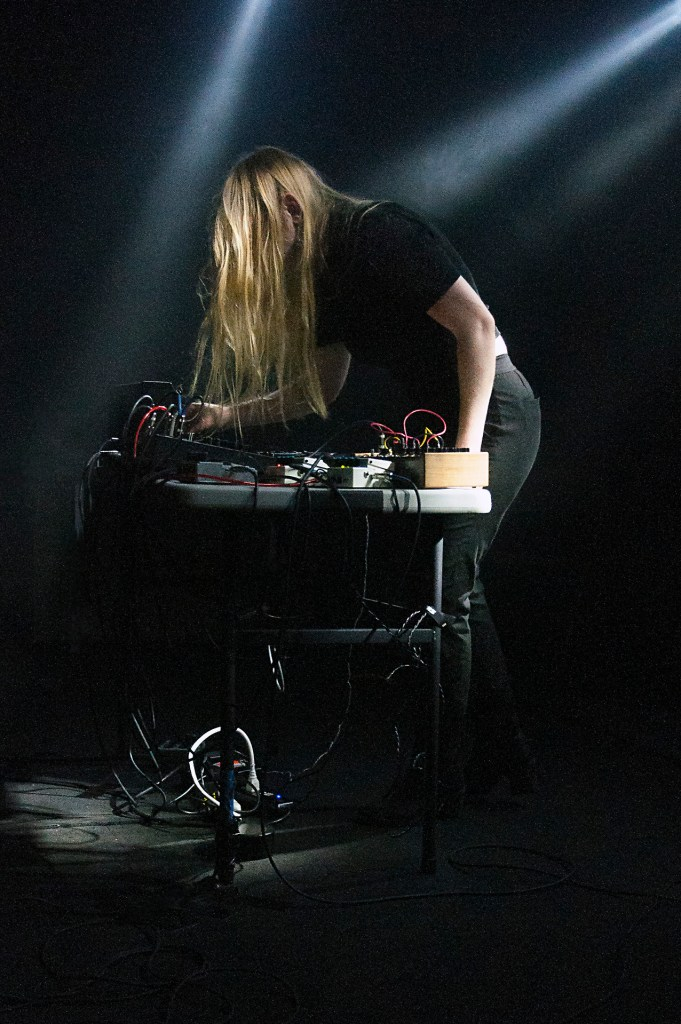 Pharmakon playing Tripmetal fest at El Club Detroit MI