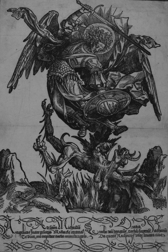 acob Cornelisz van Oostsanen The most impressive of the Holy Knightsthe Archangel Michael defeating a dragon, 1510.