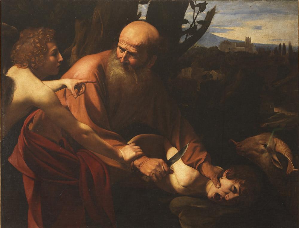 caravaggio-sacrificio-di-isacco