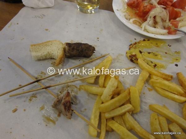 Kostas' Housemade Souvlaki