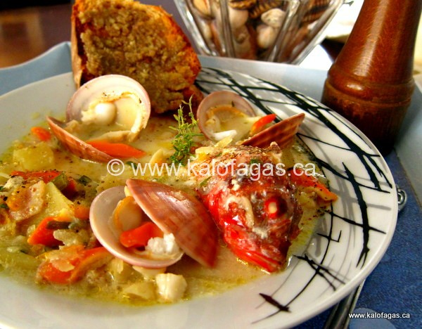 Scorpion Fish & Venus Clam Chowder
